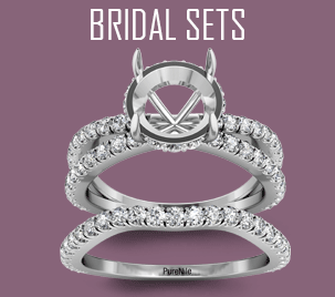 bridal set semi mount